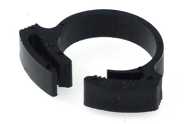 hose clamp 17 - 19mm plastics black
