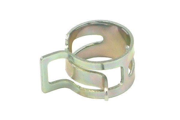 hose clamp spring 17 - 19mm silver