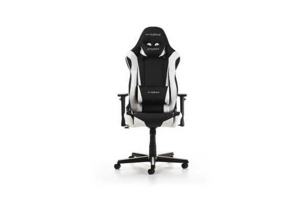 Phenomenal Dxracer Racing Series Gaming Chair Black White Machost Co Dining Chair Design Ideas Machostcouk