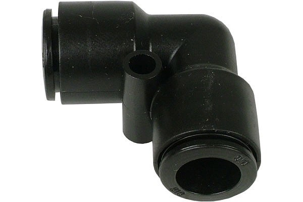10mm L plug fitting black