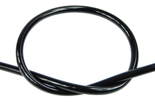 "Masterkleer tubing PVC 11/8mm (5/16""ID) UV-active black"
